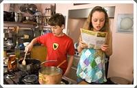 Cucinare coi bambini